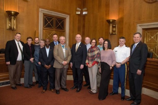 MT Team with Congressional Delegation